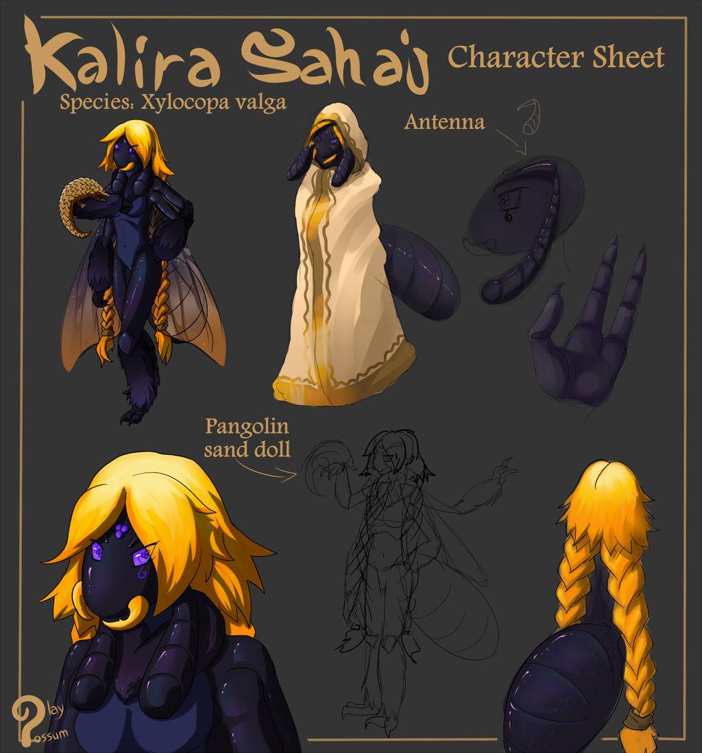 Kalira Sahaj - Character Sheet