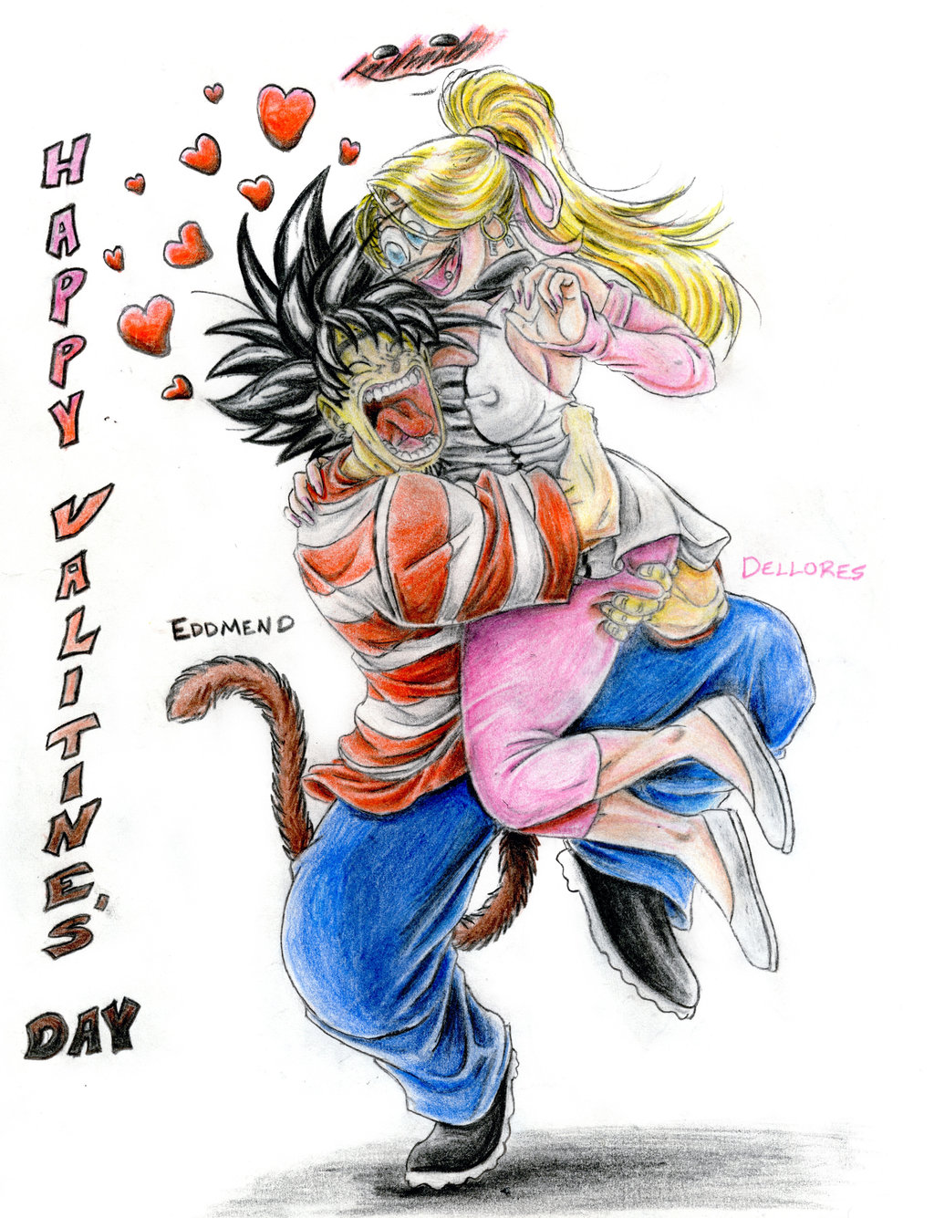 Ed and Dee Dee: Happy Valentines Day