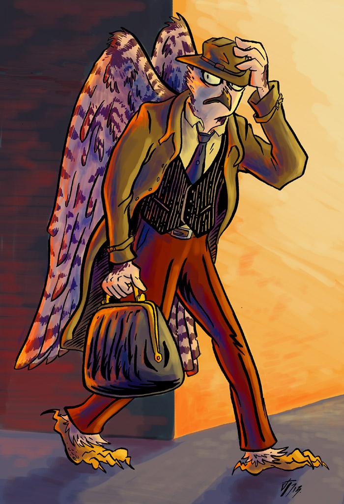Commission: TRUE OWLS, TRUE CRIMES