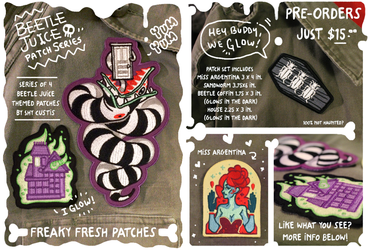 Beetlejuice Patches