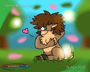 Carmine in Spring