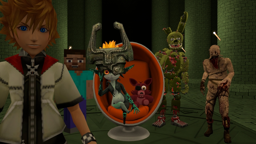 SFM Midna and Friends