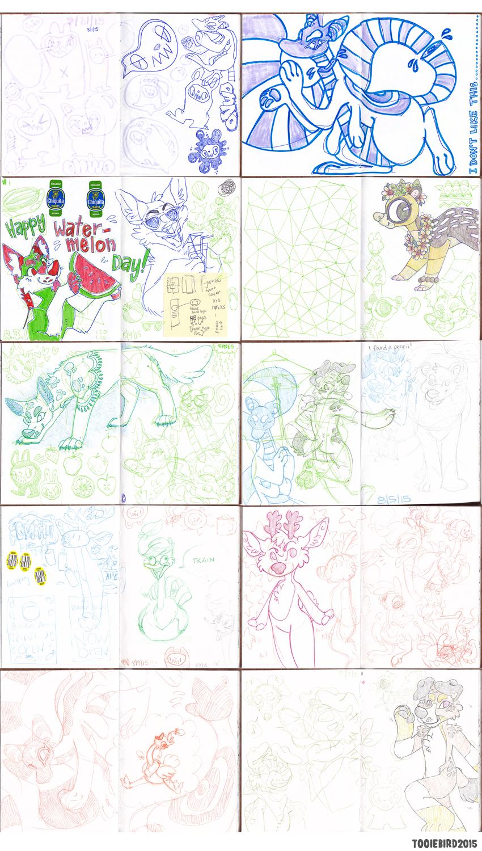 Sketchbook 74 - Part 3