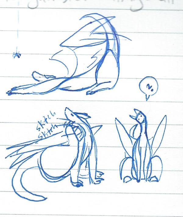 Little Dragon Doodles