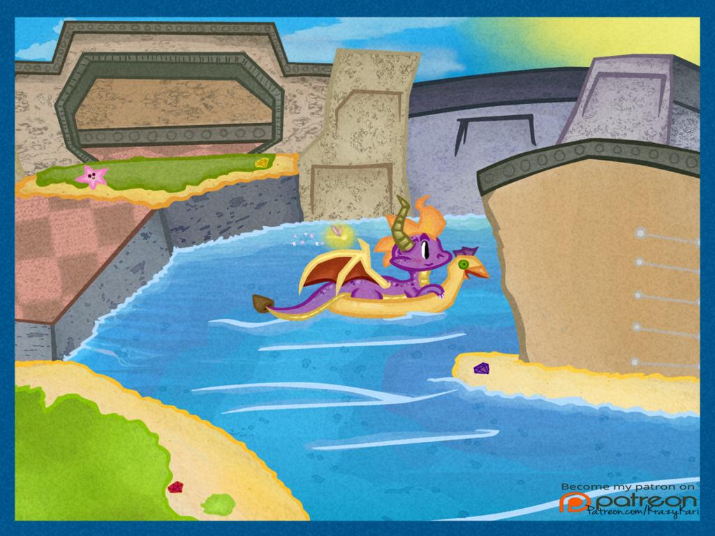 (Spyro the Dragon) Sunny Beach