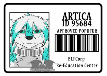[C][BLFC] - Artica BLFC ID Badge