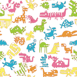 Scribbles Repeating Pattern