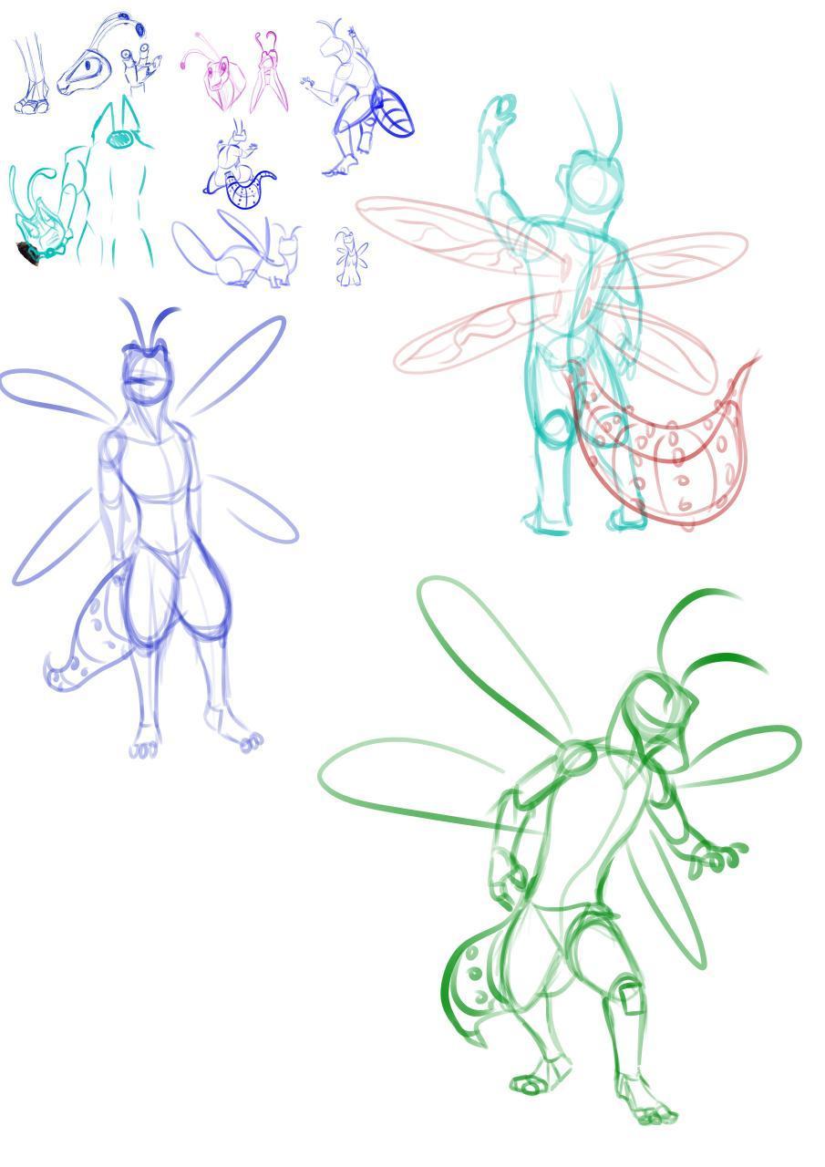 New Sona Sketch Dump 2