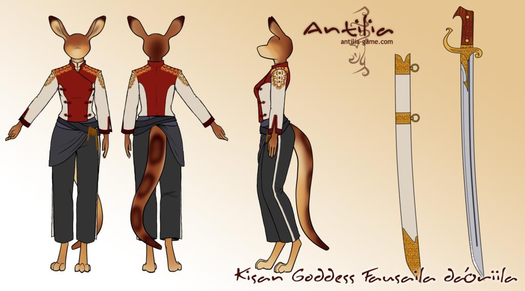 Antilia Concept---Fausaila's Outfit