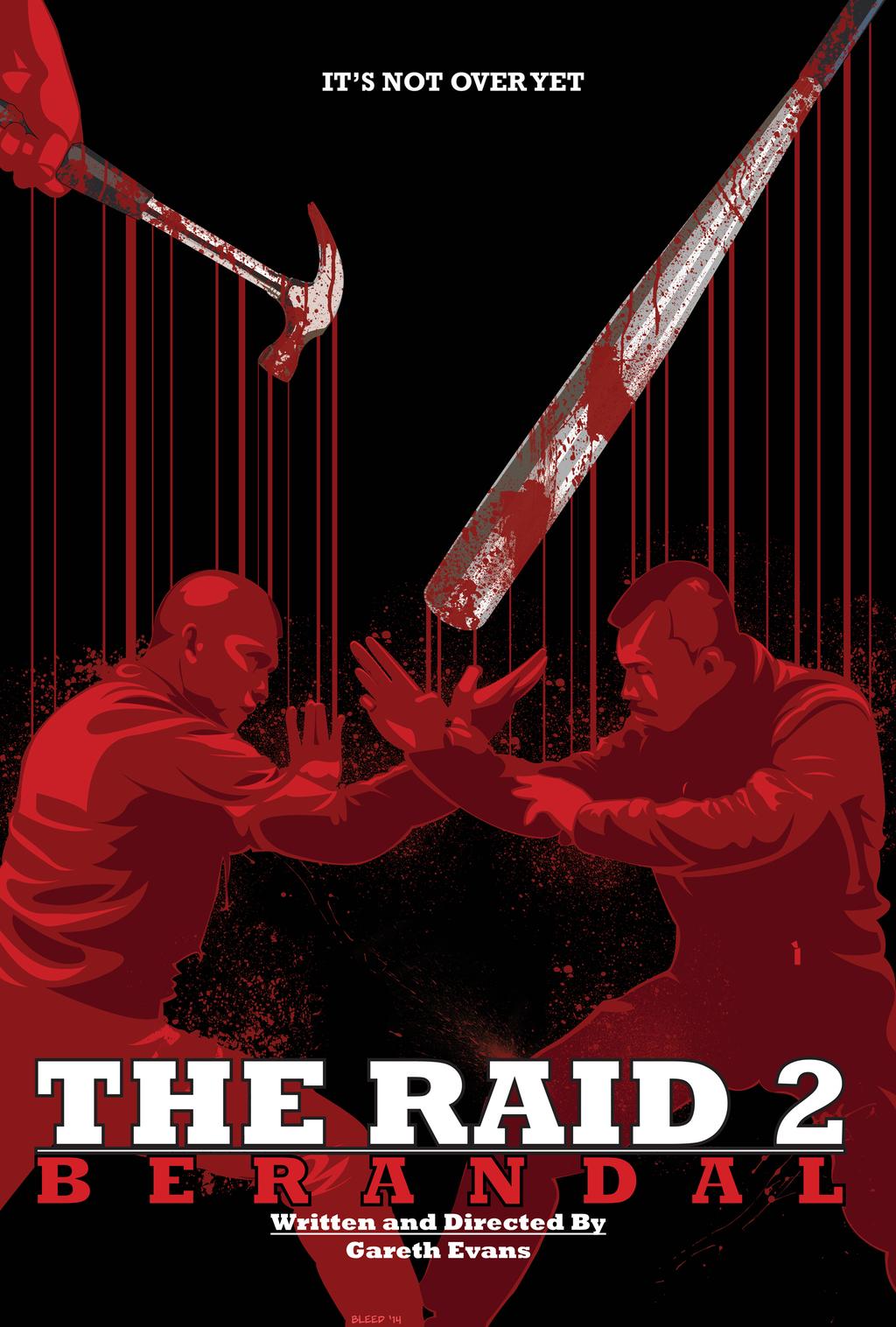 The Raid II Mondo Movie Poster