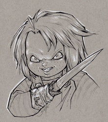Inktober Day 1 - Chucky