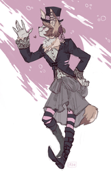 commission - hyena
