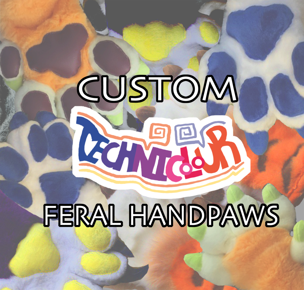 Order Your Own Custom Feral Fursuit Handpaws!