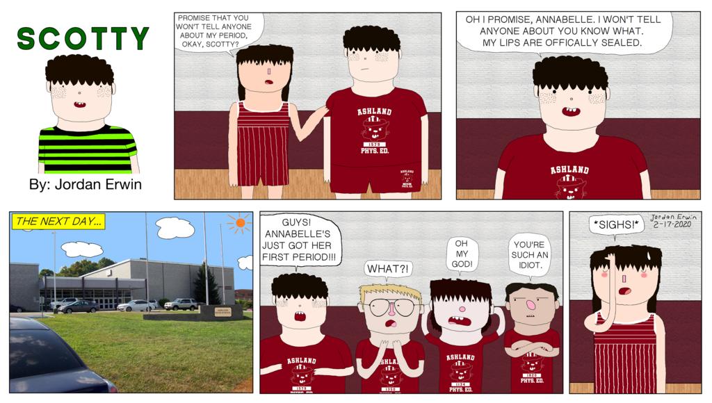 Scotty Comic Strip #3 (February 17, 2020)