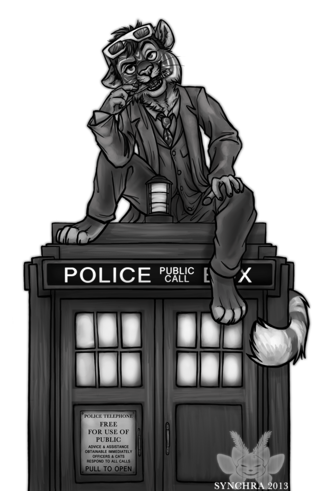 Featured image: Ten and the TARDIS