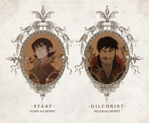 Cameo - Staaf and Gilchrist (Alchemists)