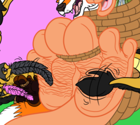 Joey and Mike Foot Tickling YCH for Michaelbond Alt