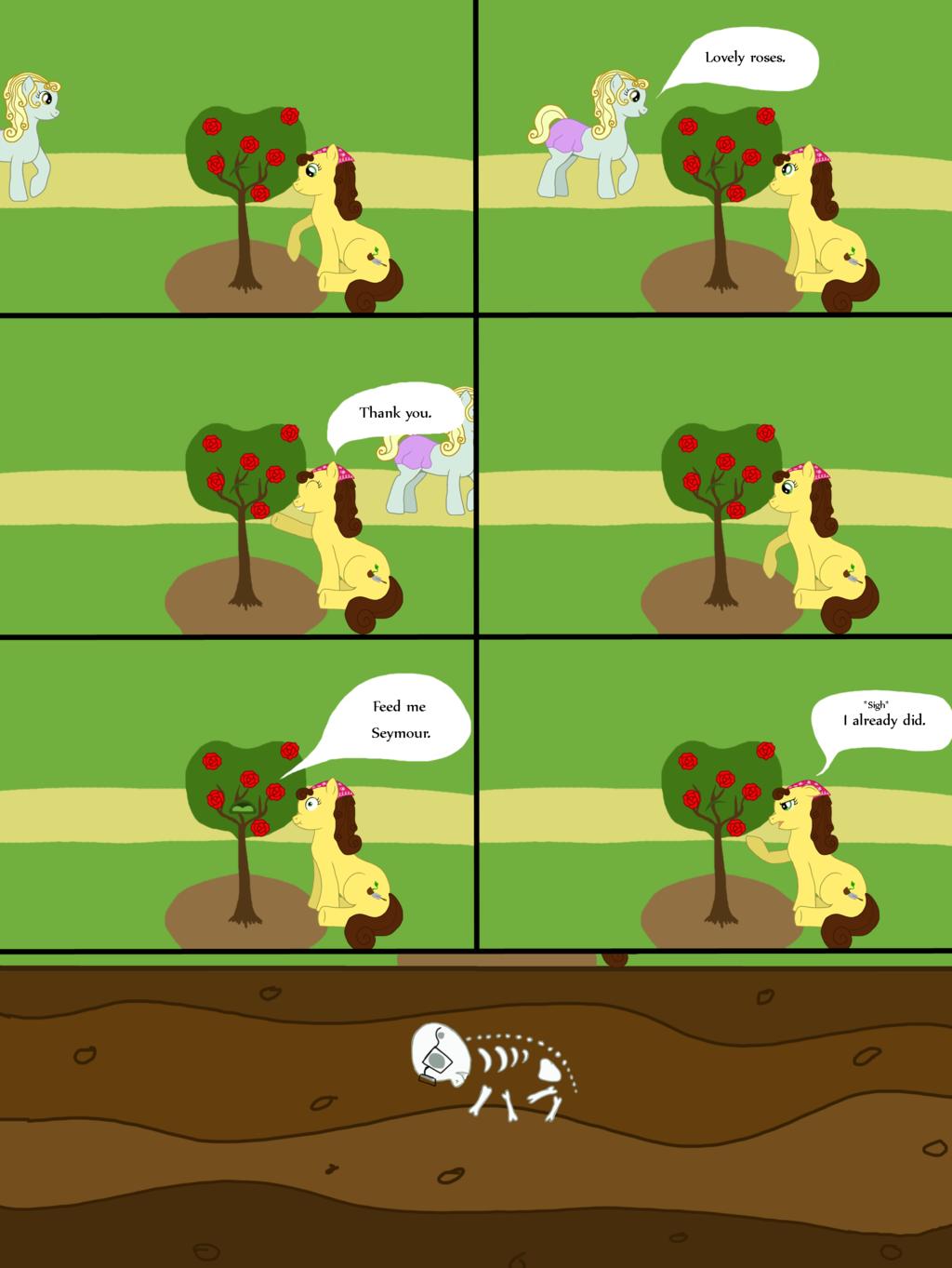 MLP comic: Feed Me Seymour