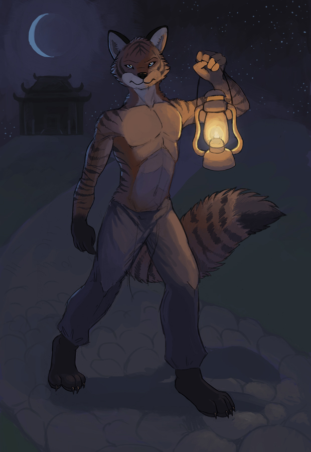 Midnight Guardian - Art by Rikkoshaye