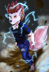 Fully Charged! (COMMISSION ART)