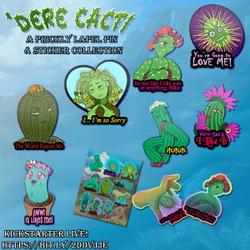 Dere Cacti Kickstarter is live!