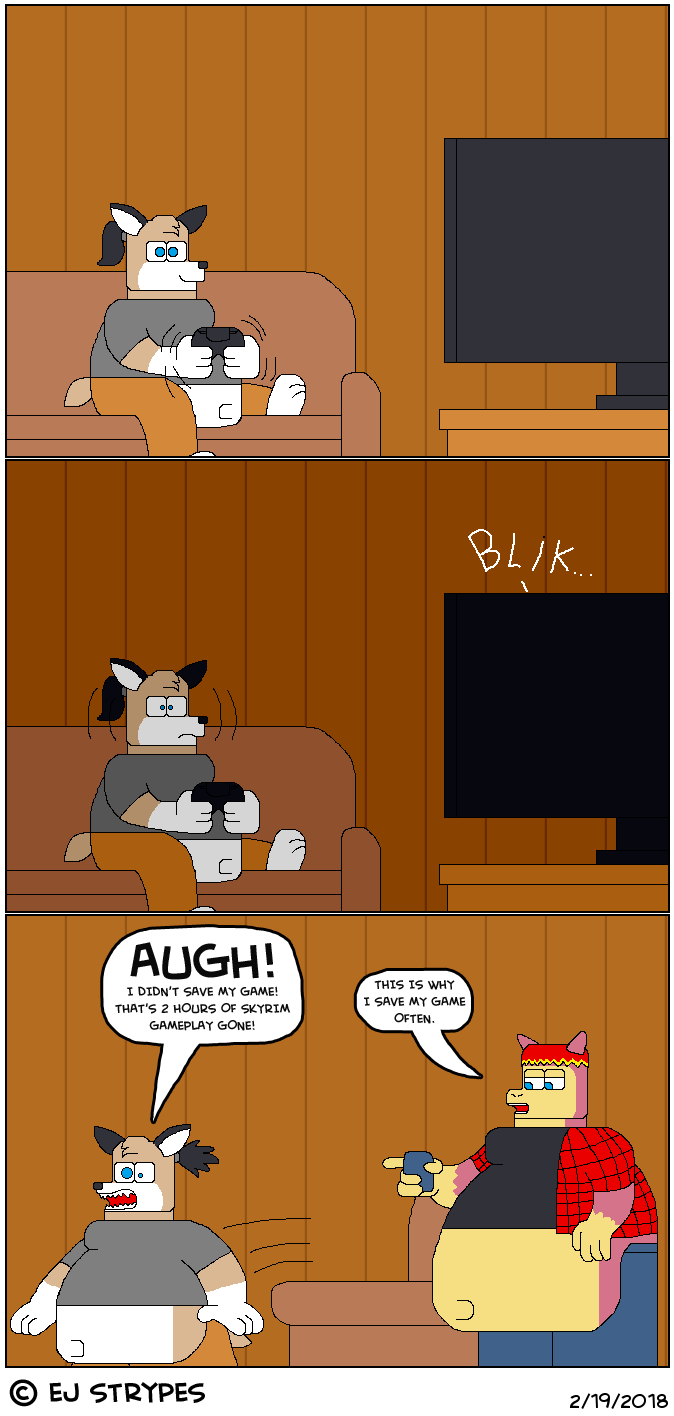 A Gamer's Worst Nightmare!