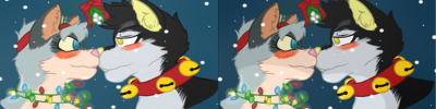 [C] Marshmellow and Jaymutt Christmas boops
