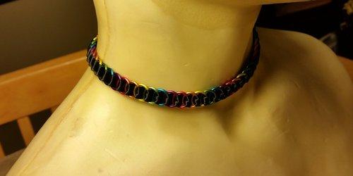 Rainbow Ribbon Maille