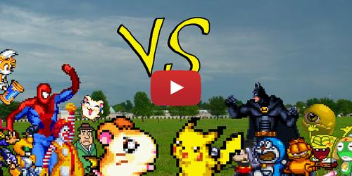 Hamtaro VS Pikachu