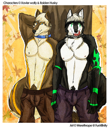 Xavier and Raiden