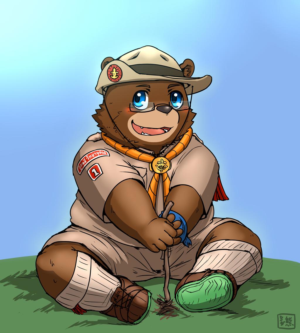 Little bear scout