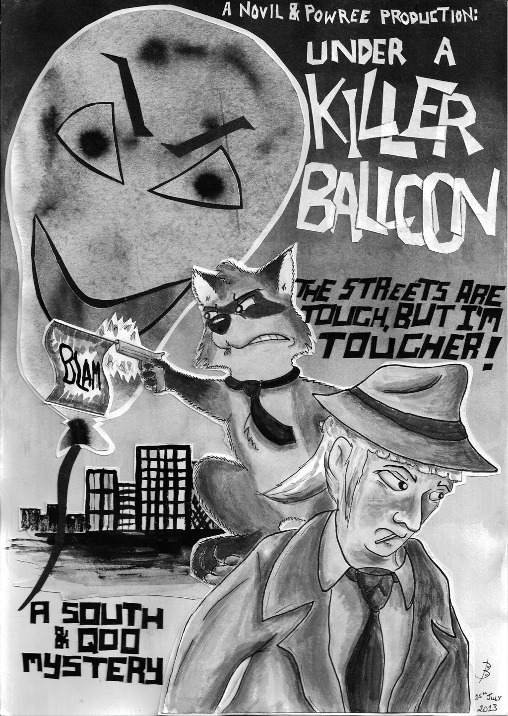 Under A Killer Balloon
