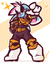 [CHUMMISSION] - MIGHTY GOLD BUNNY