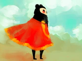A warm breeze