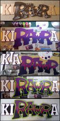 Making of KiRAWRa Sign
