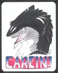 Carcin Con Badge