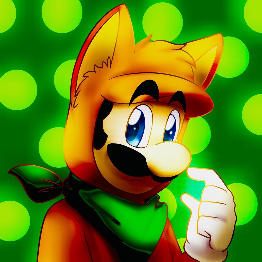 Fox Luigi by BaconBloodfire