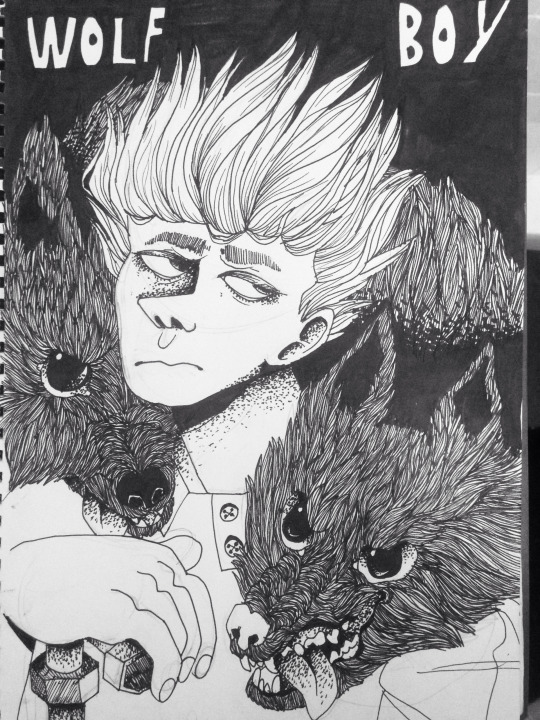 Most recent image: wolfboy
