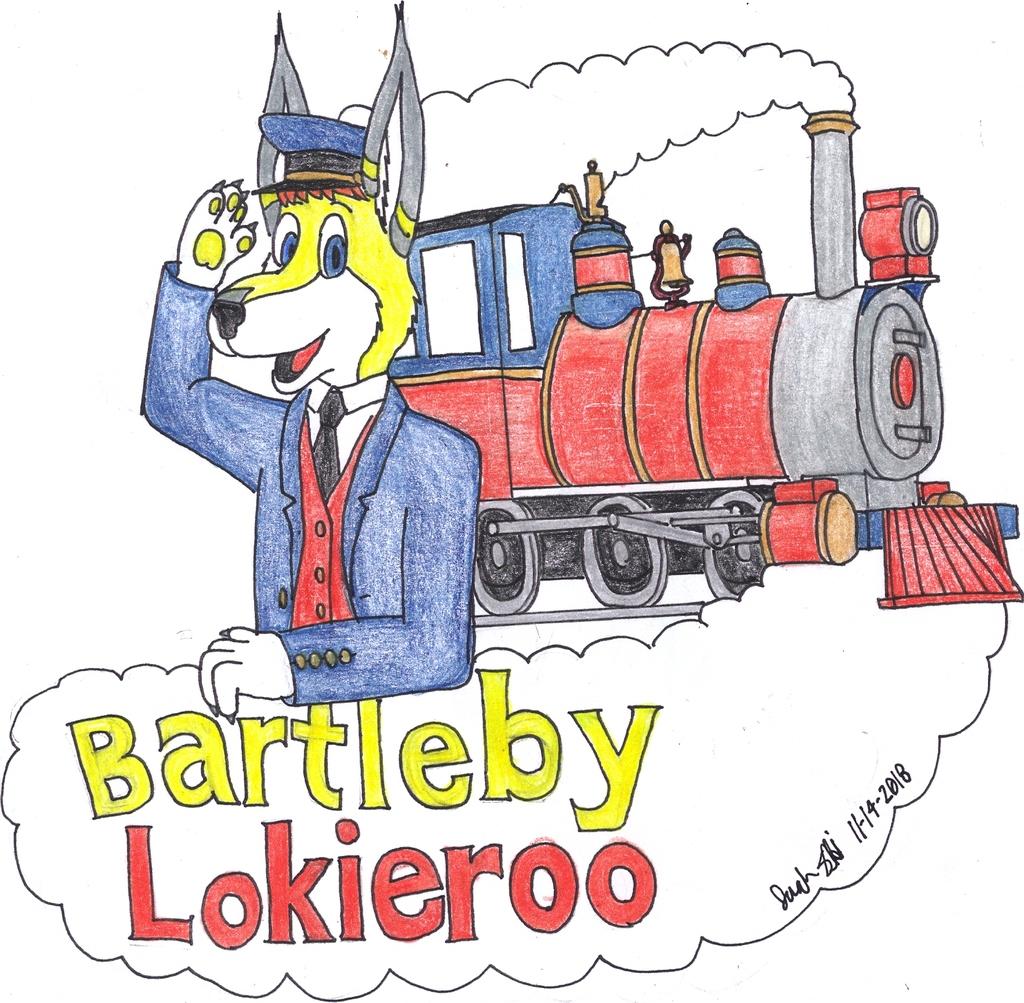 Most recent image: Bartleby Lokieroo badge