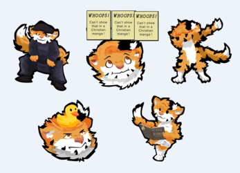 [Comm] Stickers for Kodakins III