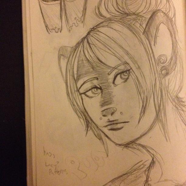 Pua sketch