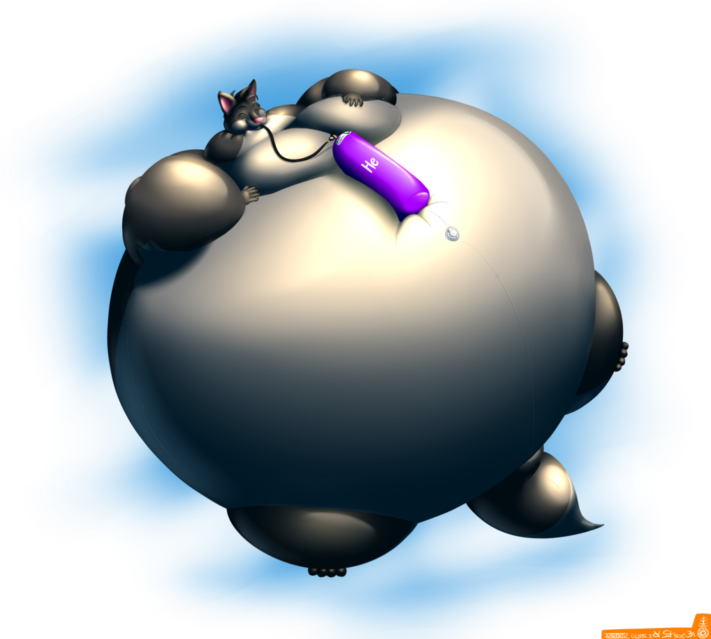 Look Ma, A Blimp! ... That's Also A Wolf.