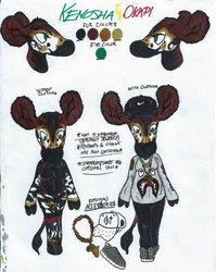 Kenosha's Reference Sheet