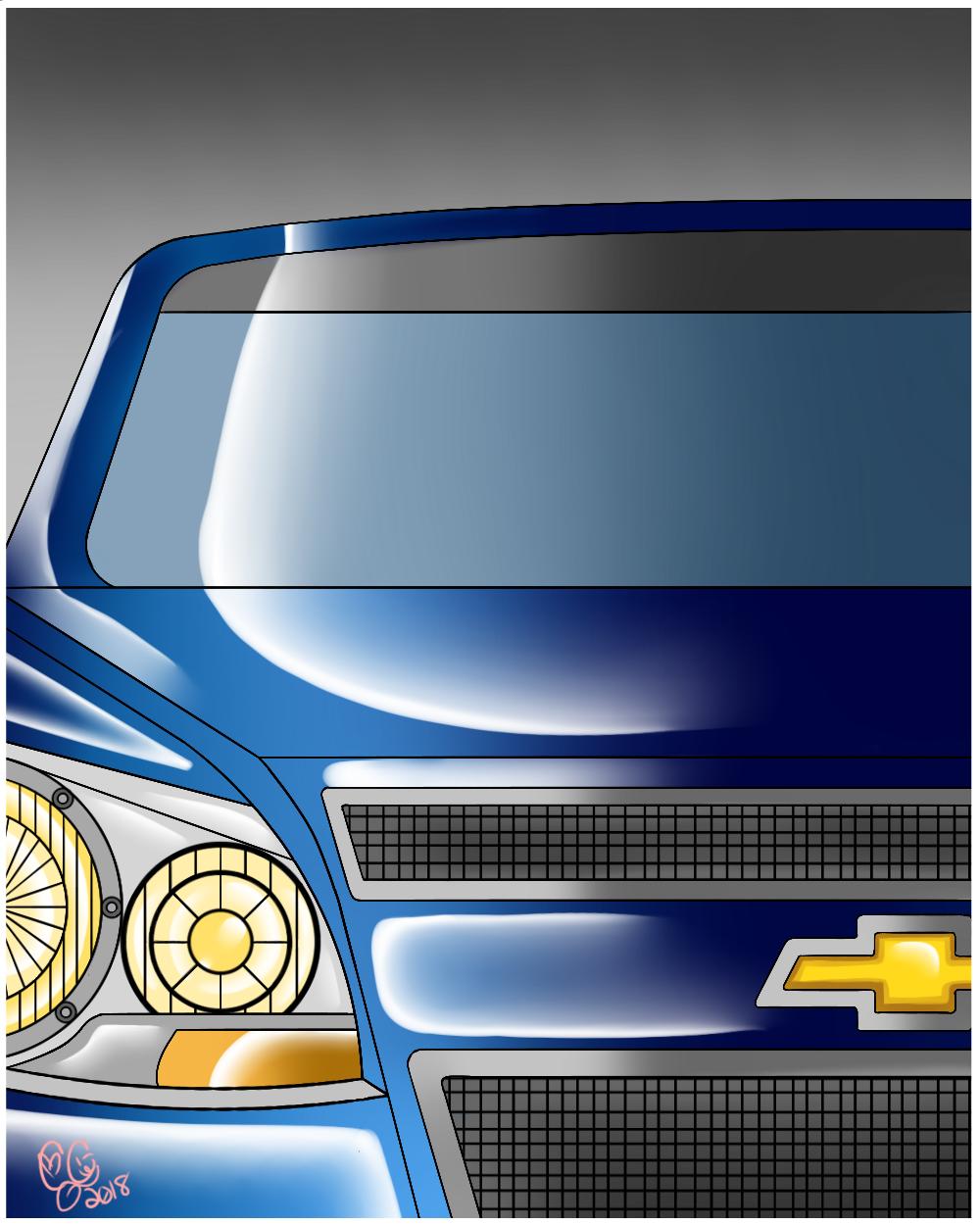 Chevy Malibu Digital V2