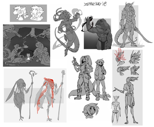 Sketch Dump 2018 July