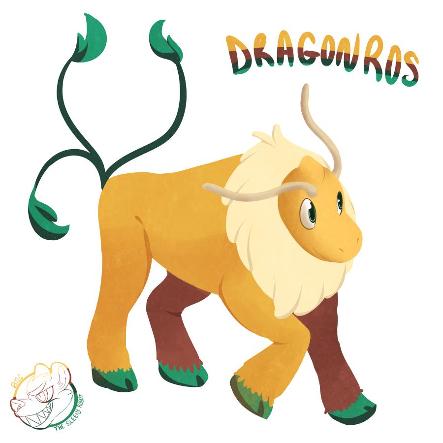 Pokemon Fusion - Dragonros