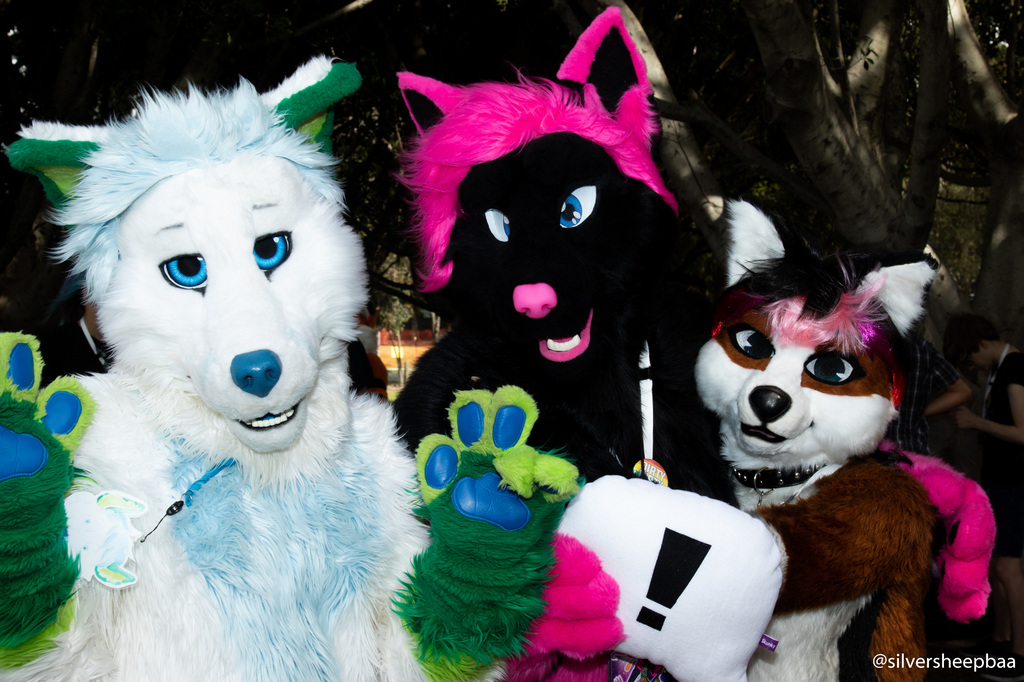 FurJAM 2018: Three Fursuiters