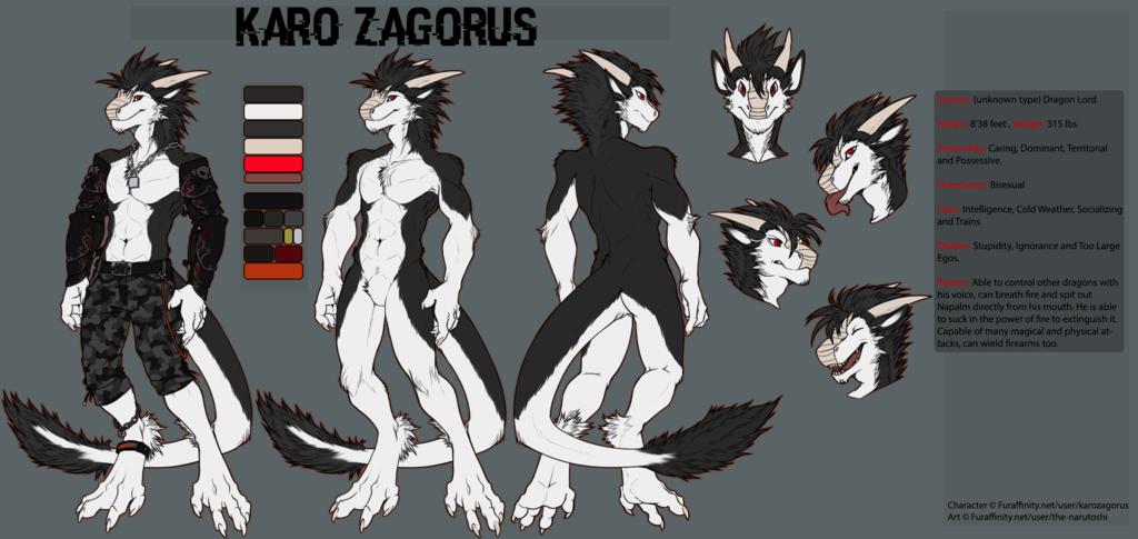 Karo Zagorus, the Dragon Lord [Alternative Color]