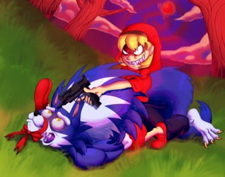 LITTLE RED HUNTING HOOD