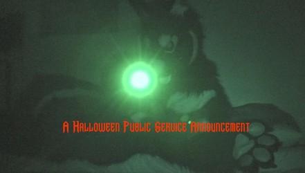 A Halloween Public Service Announcement (Video)